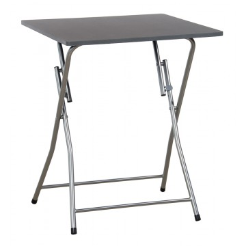 MAGGY table pliante Grise