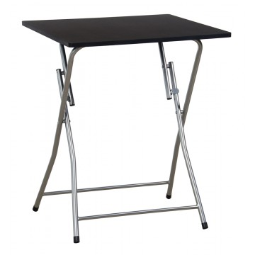 MAGGY table pliante Noire