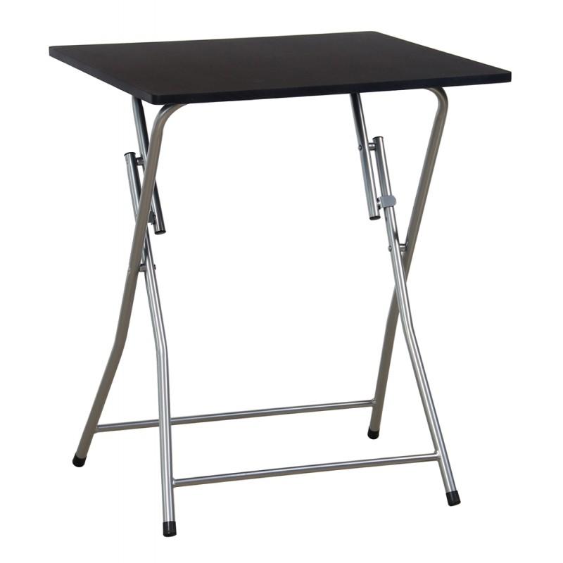 maggy table pliante noire troc 3000 fr jus. Black Bedroom Furniture Sets. Home Design Ideas