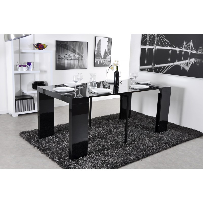 console noire conforama console demi lune conforama u. Black Bedroom Furniture Sets. Home Design Ideas