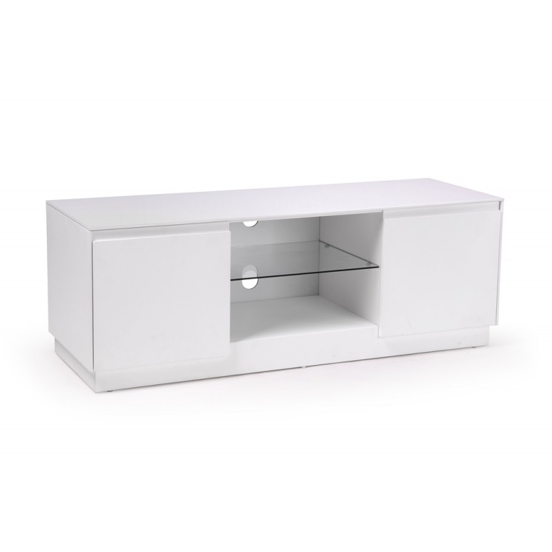 Soho meuble tv blanc en 120 troc 3000 fr jus for Meuble tv 120 cm blanc