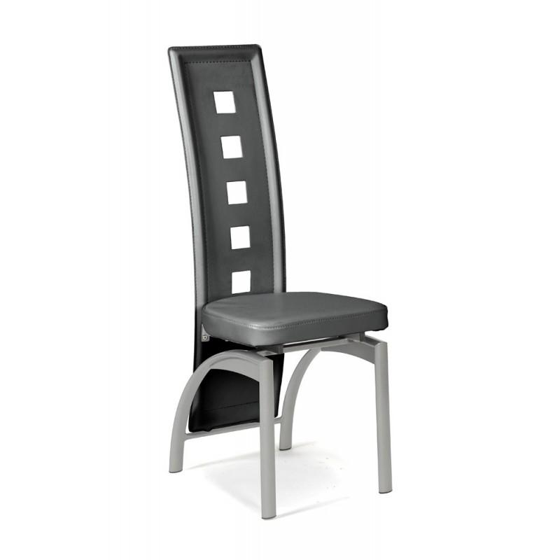 Eve chaise grise troc 3000 fr jus for Chaise de salle a manger grise