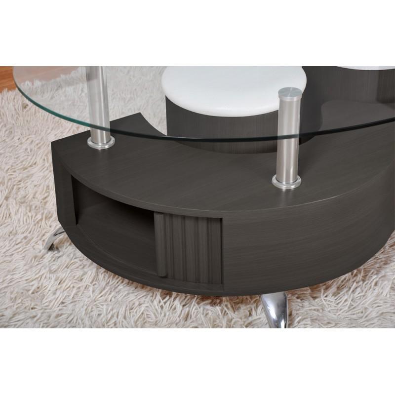 table basse orfee noire. Black Bedroom Furniture Sets. Home Design Ideas