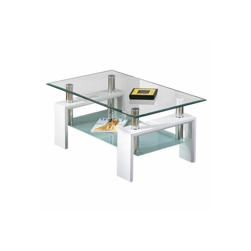 Alva table basse blanche troc 3000 fr jus - Tables basses blanches ...