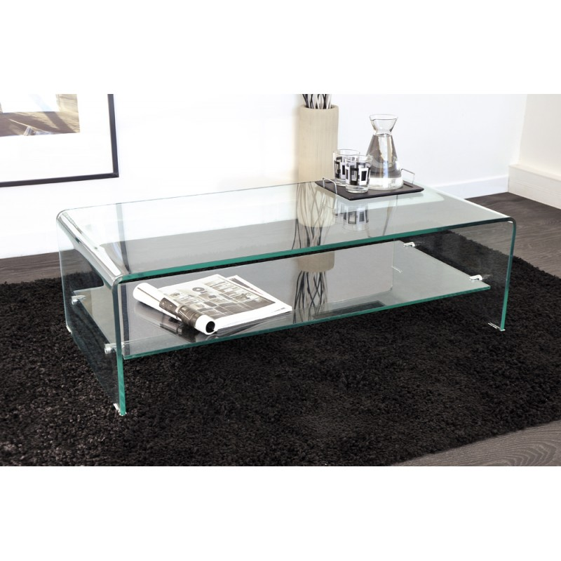 Grande Table Basse En Verre Table Basse Blanche Moderne Slowhand