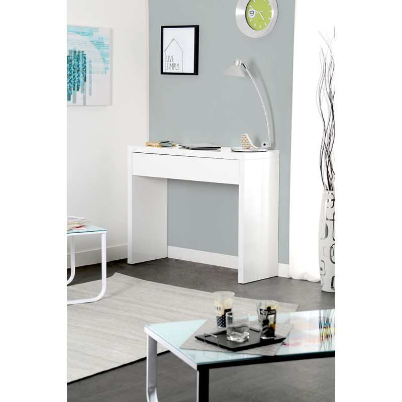 console a tiroir console a tiroir with console a tiroir excellent meuble console bois ceruse. Black Bedroom Furniture Sets. Home Design Ideas