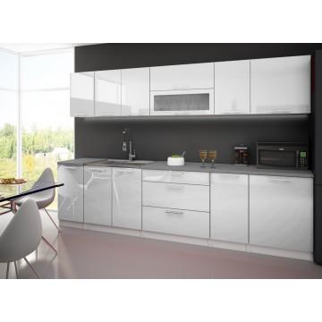 LYNDA cuisine blanche 3m