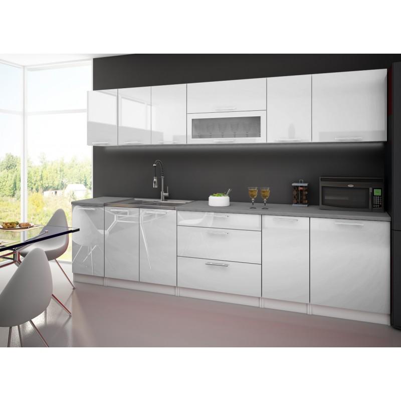 lynda cuisine blanche 3m troc 3000 fr jus. Black Bedroom Furniture Sets. Home Design Ideas