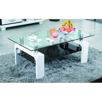 GLORIA table basse blanche