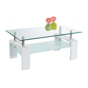 CT37 table basse blanche