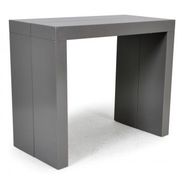 MAXI console-table grise 4 allonges