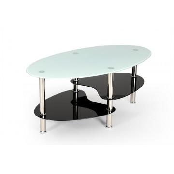 GAYO table basse noir et blanc