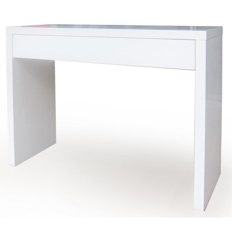 Epure console 1 tiroir laqu e blanche troc 3000 fr jus - Console laquee blanche avec tiroir ...