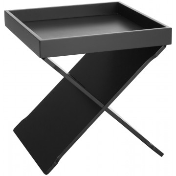 EGON table d'appoint noir