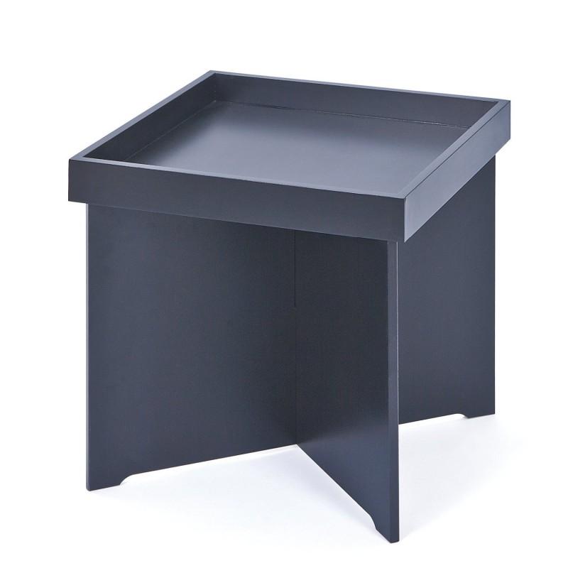 Egon table d 39 appoint noir troc 3000 fr jus - Table d appoint noire ...