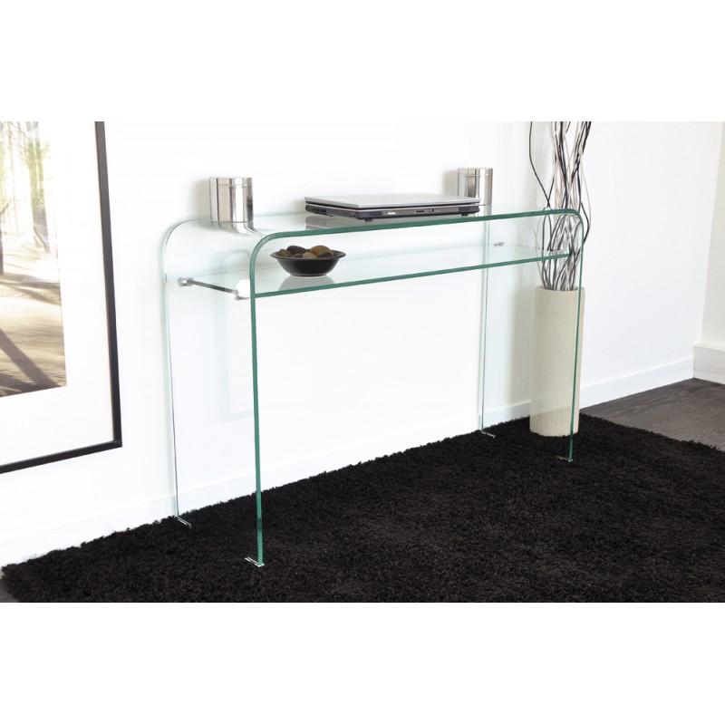 vera console verre troc 3000 fr jus. Black Bedroom Furniture Sets. Home Design Ideas