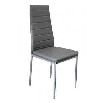 TILIA Chaise PVC Gris