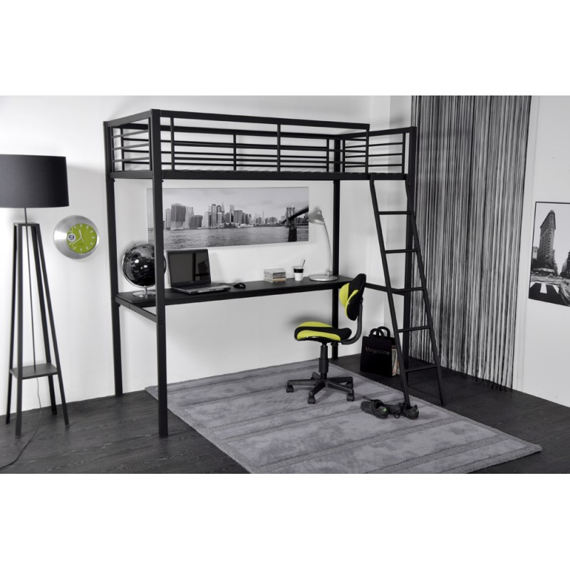 pin lit mezzanine avec dressing on pinterest. Black Bedroom Furniture Sets. Home Design Ideas
