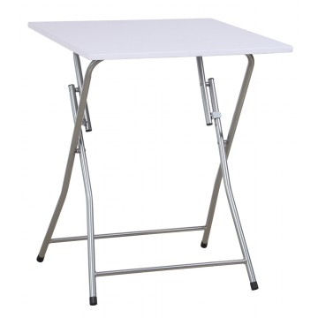MAGGY table pliante Blanche