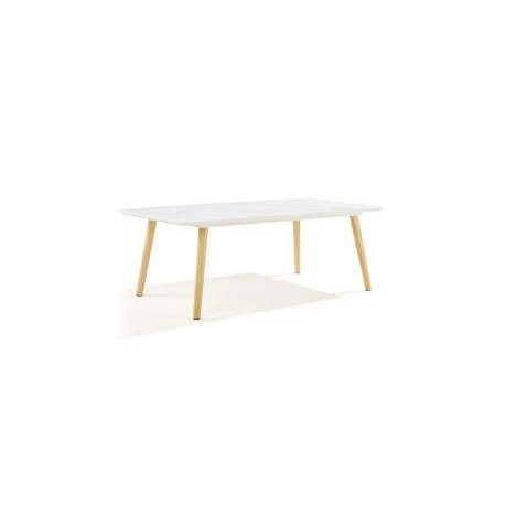 COFFEE Table basse blanche nordique