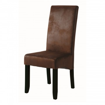 SAGUA Chaise imitation cuir viellli