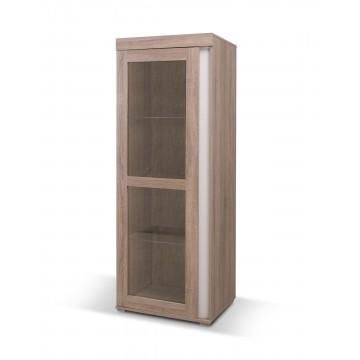 AVIGNON Truffle vitrine 1 porte 60cm