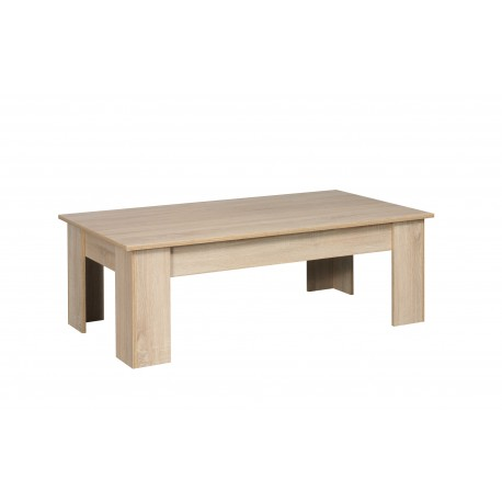 LILLE Sonoma table basse 135cm
