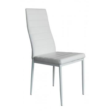 TILIA Chaise PVC Blanc